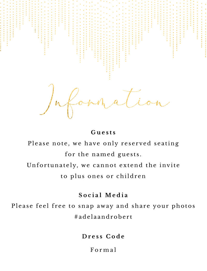 Gold Dust - Information
