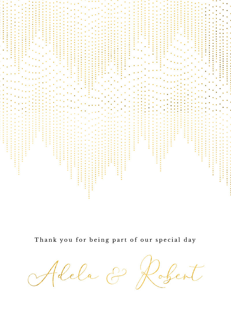 Gold Dust - Thank You