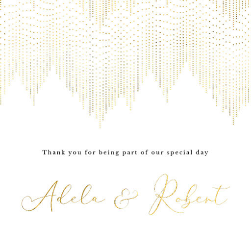 Gold Dust - Thank You Cards