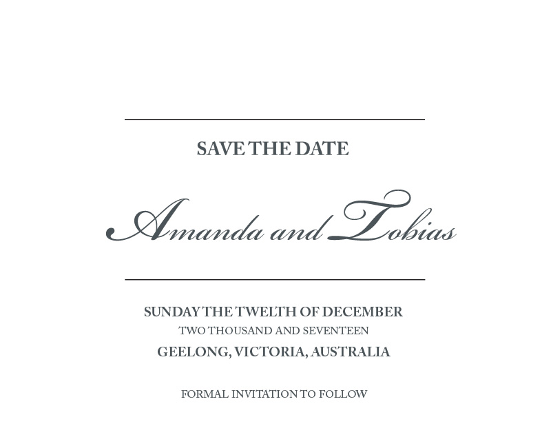 The Classic LP - Save The Date