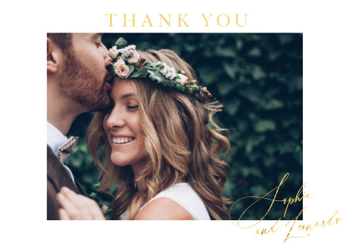 La Butte - Thank You Cards