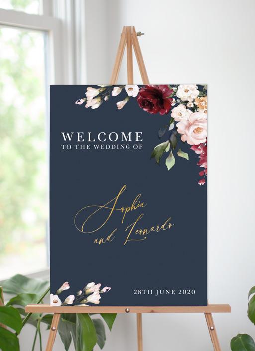 La Butte - Wedding Signs