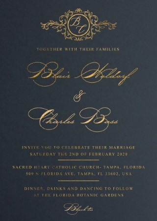 Lucullan Wedding Invitations - wedding invitations