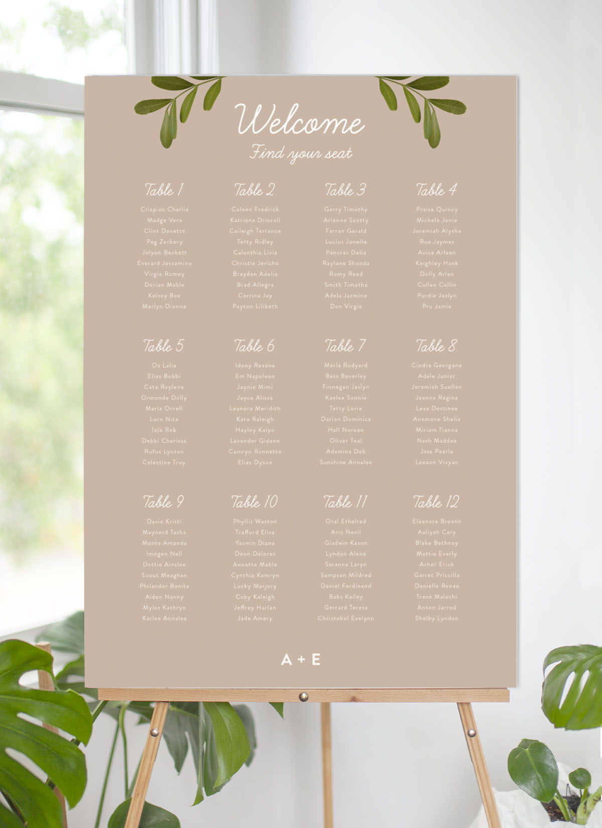 Leif - Seating Charts