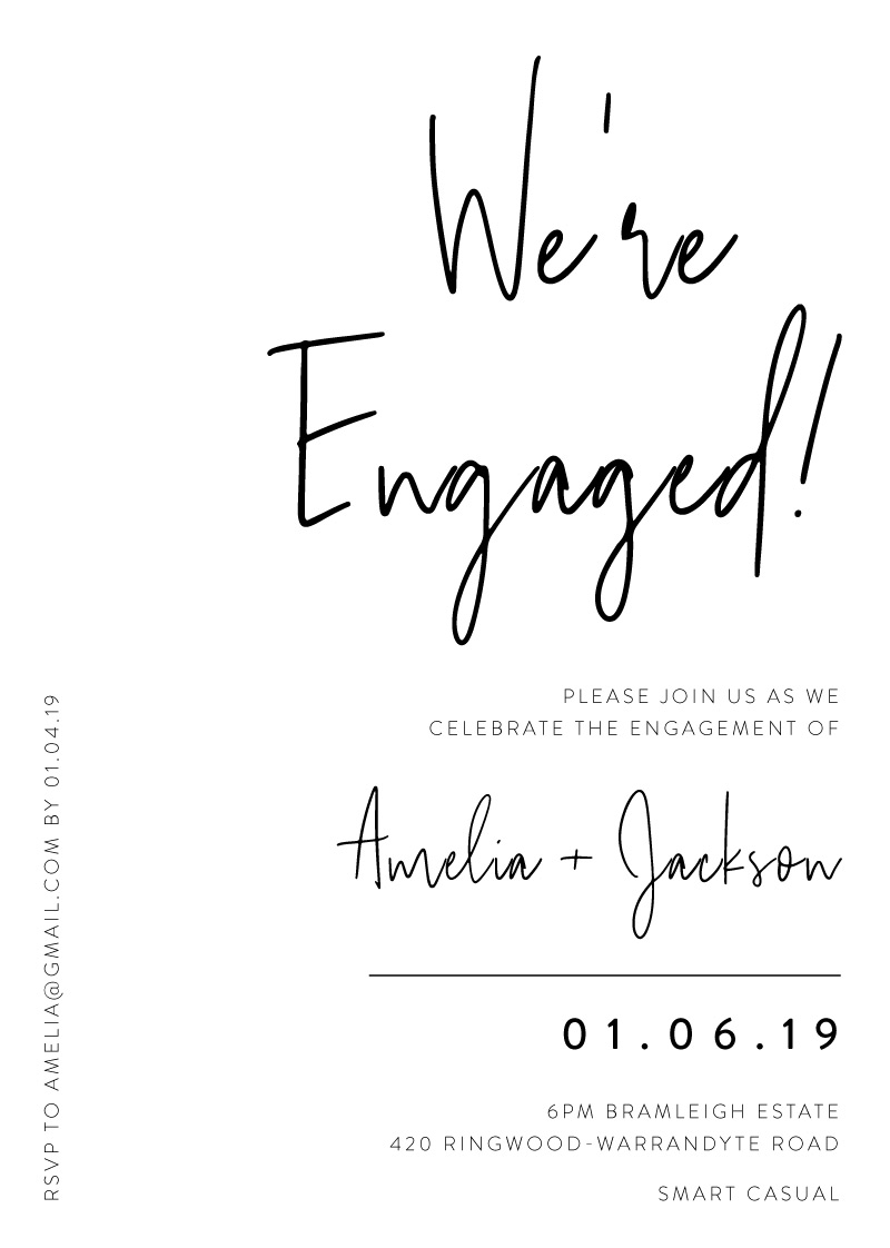 Linear - Engagement Invitations