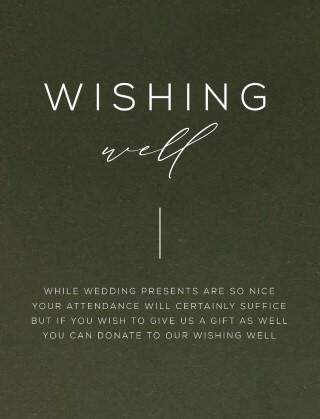 Verde - Wishing Well