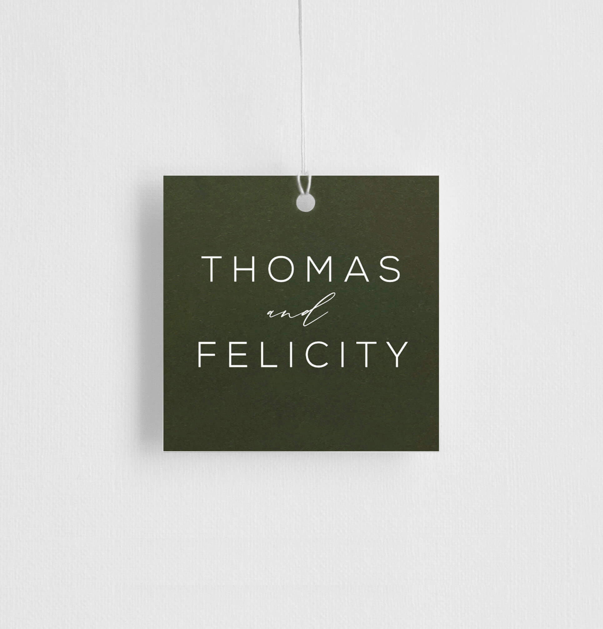 Verde - Gift Tags