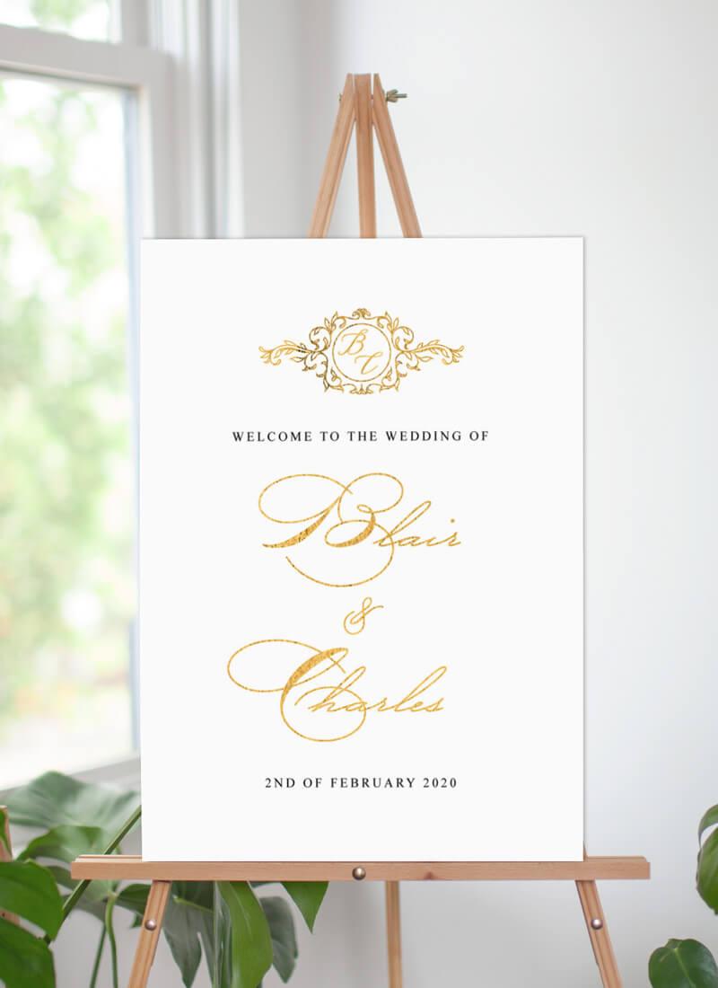 Lucullan - Wedding Signs