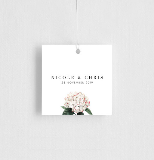 Hydrangea - gift tags