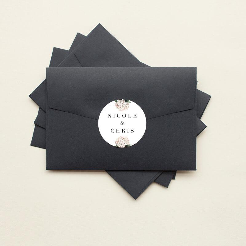 Hydrangea - Stickers