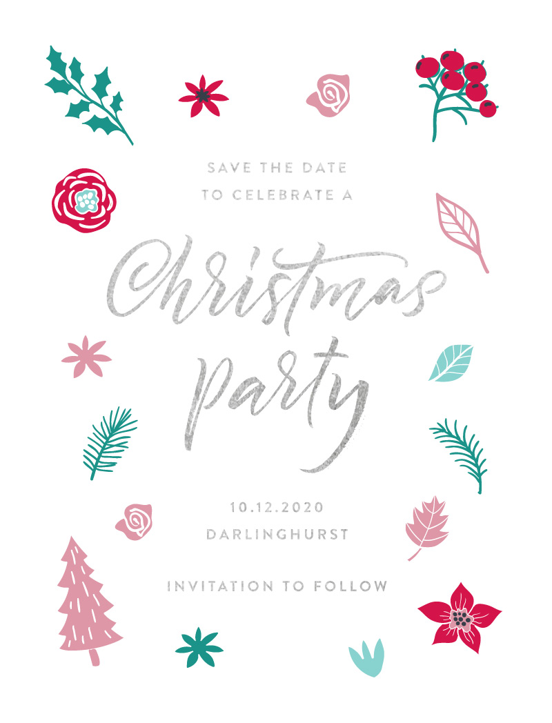 Merry Little Christmas - Save The Date