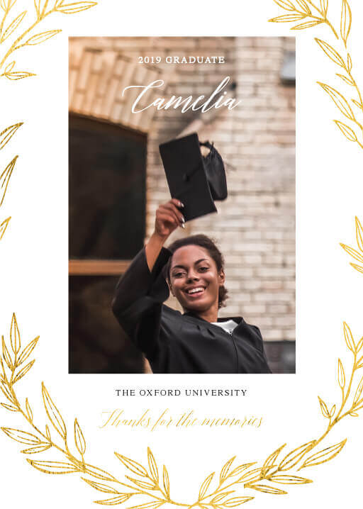 Athena's Crown - Graduation Invitations & Announcements