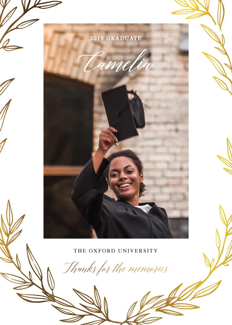 Athena's Crown - Graduation Invitations & Announcements
