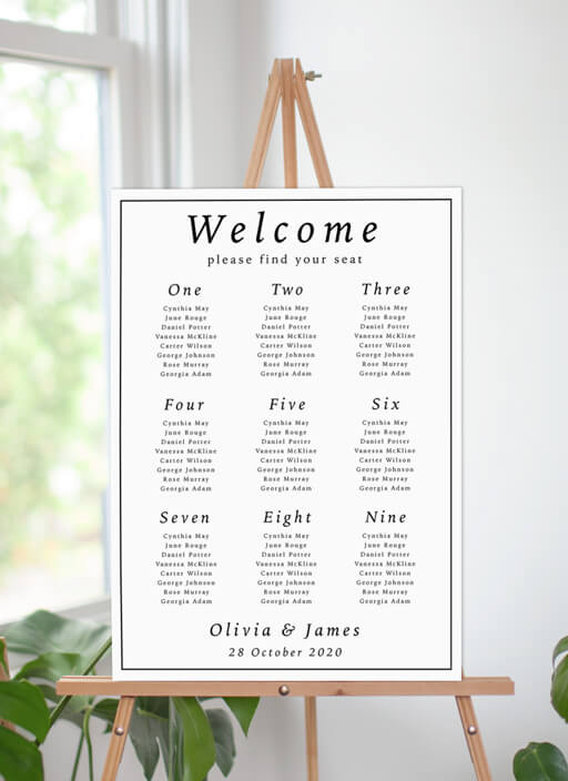 Love Land - seating charts