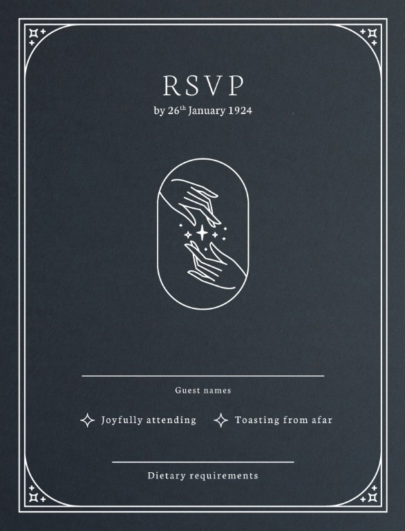 Ad Astra - RSVP Cards