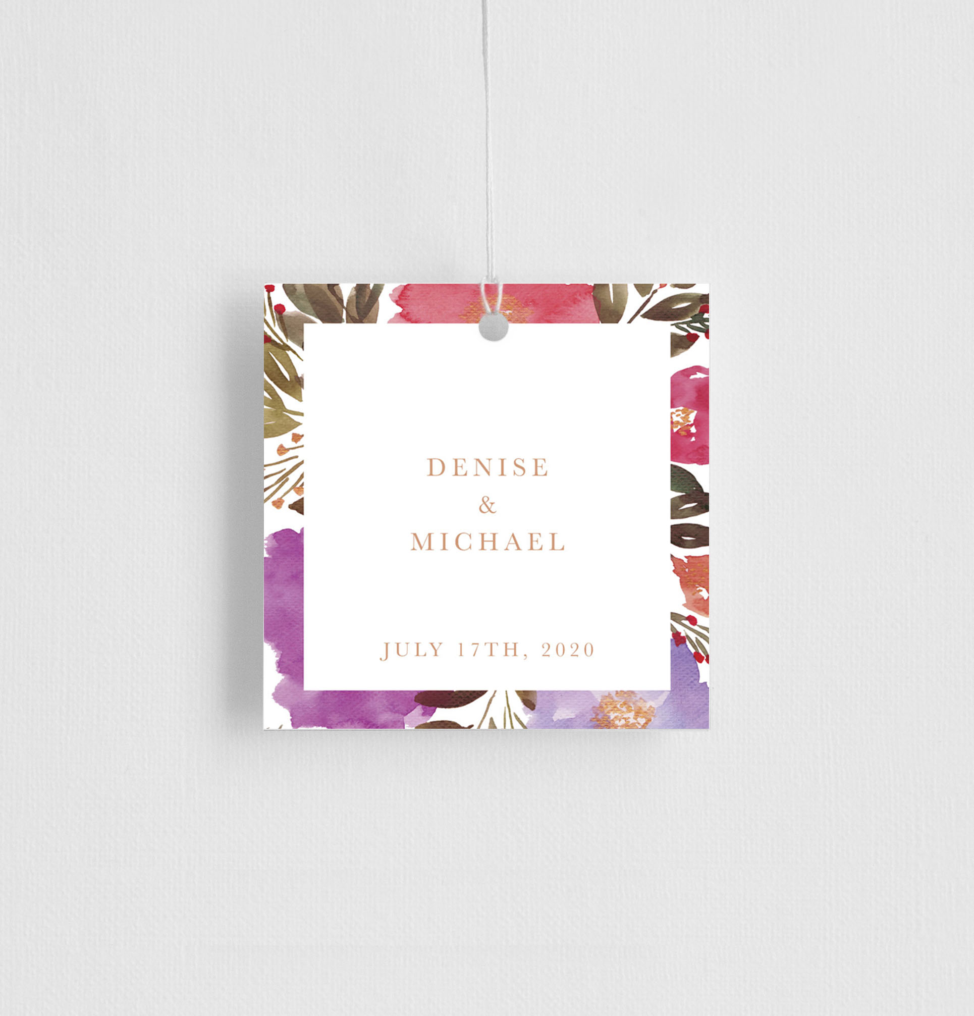 Violet Fall - Gift Tags