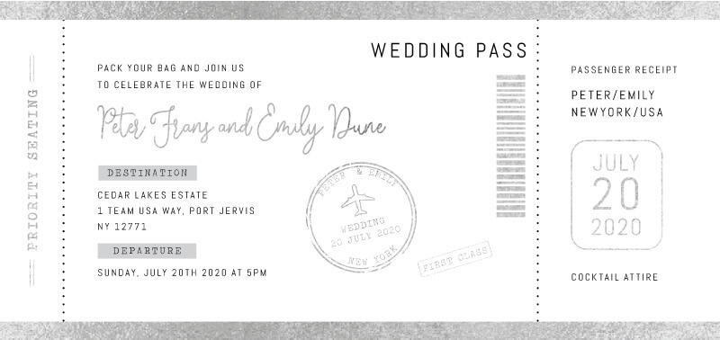 First Class - Wedding Invitations