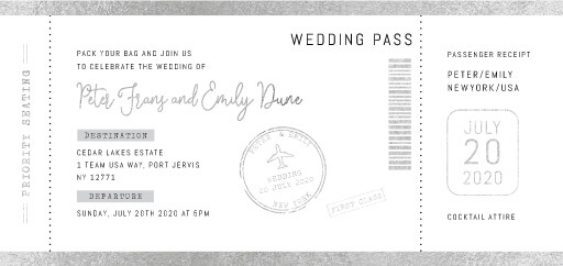 First Class Wedding Invitations - wedding invitations