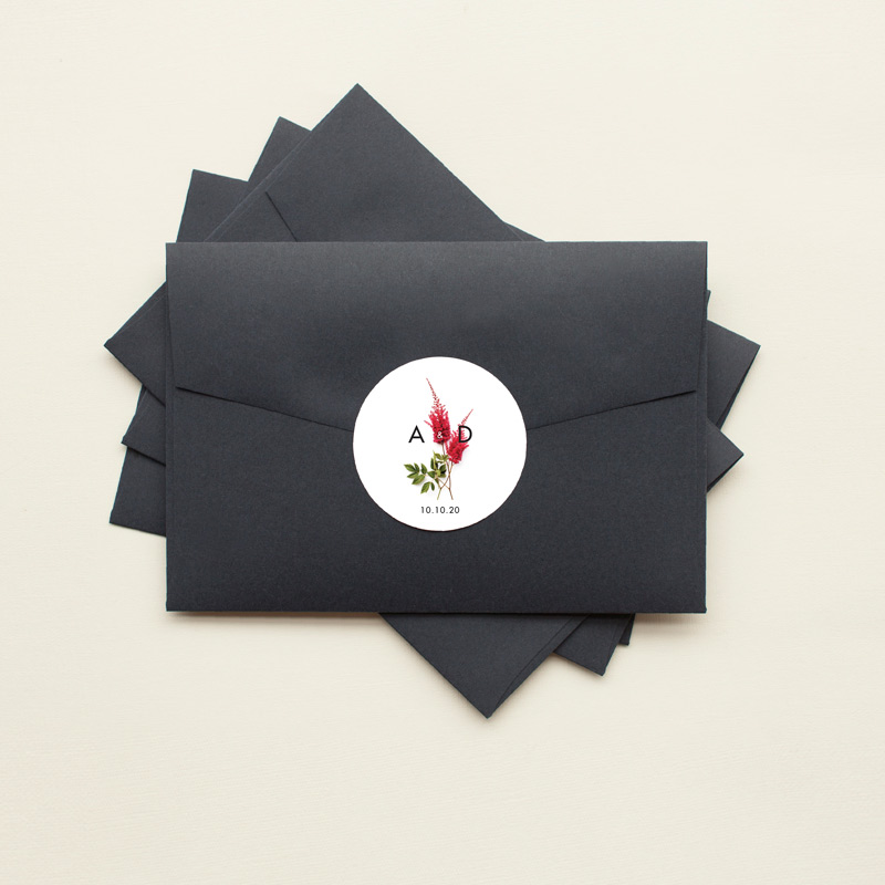 Blooming Red - Stickers