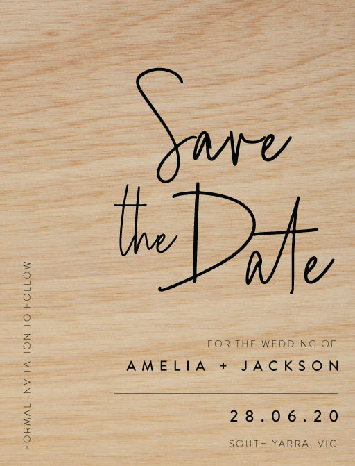 Linear Save The Date - Save The Date