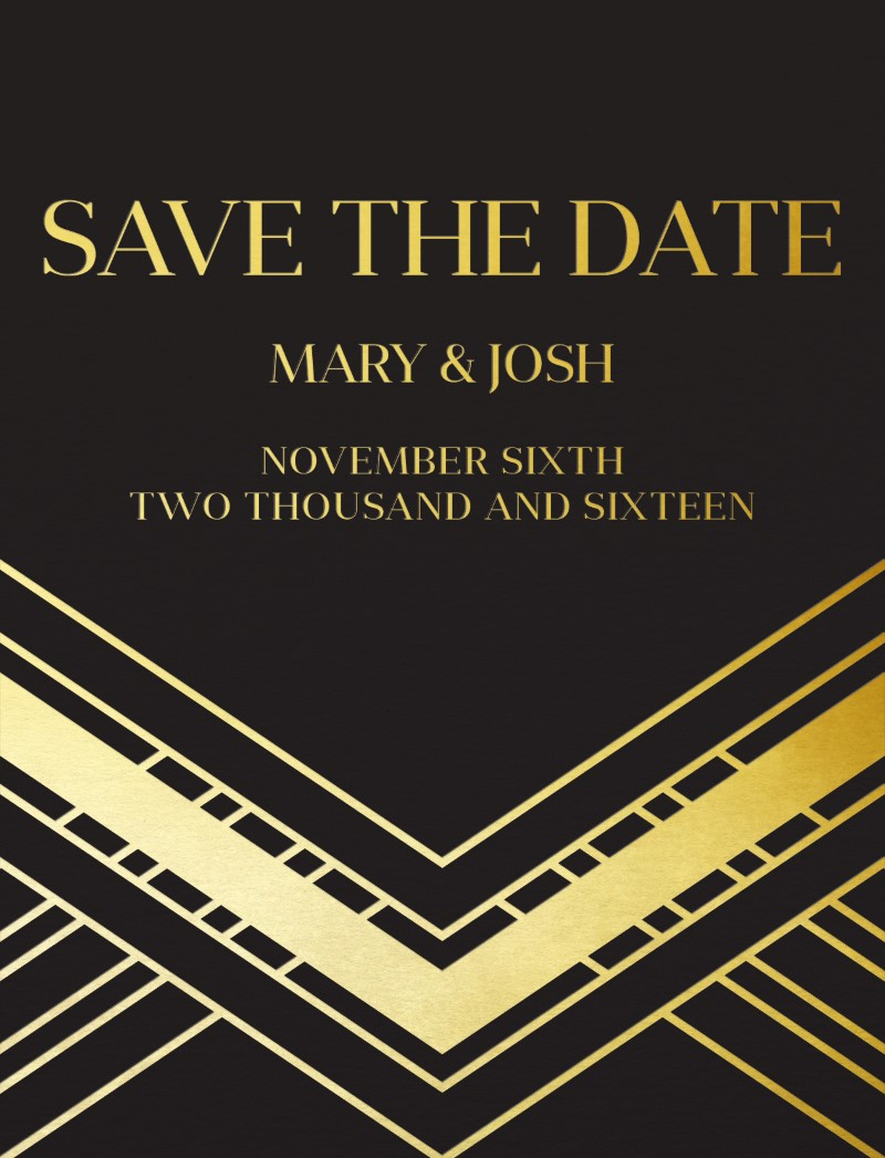 The Great G - Save The Date