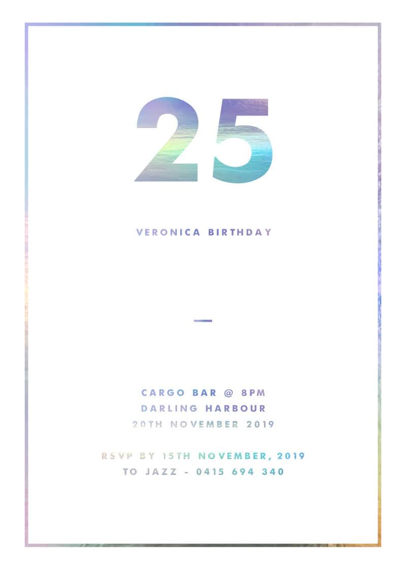 Sweet Dream - Birthday Invitations