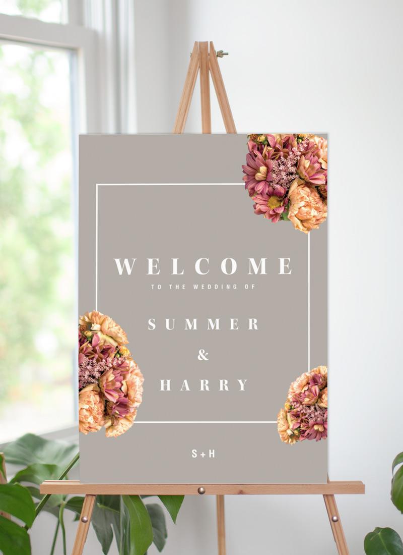 Summer Breeze - Wedding Signs