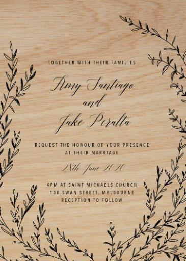 Zireael Wedding Invitations - wedding invitations