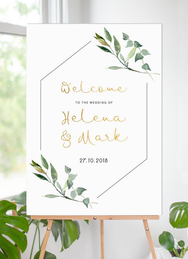 Garden Window - Wedding Signs