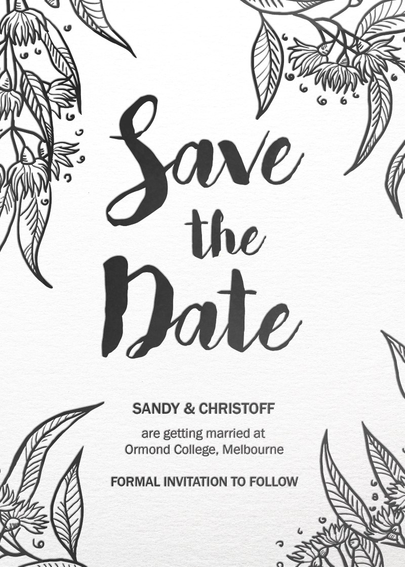 Australiana - Save The Date