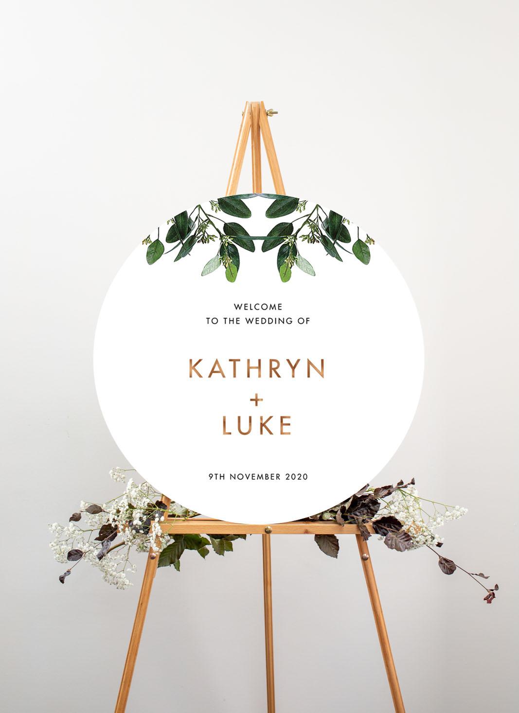 Garden Estate - Wedding Signs