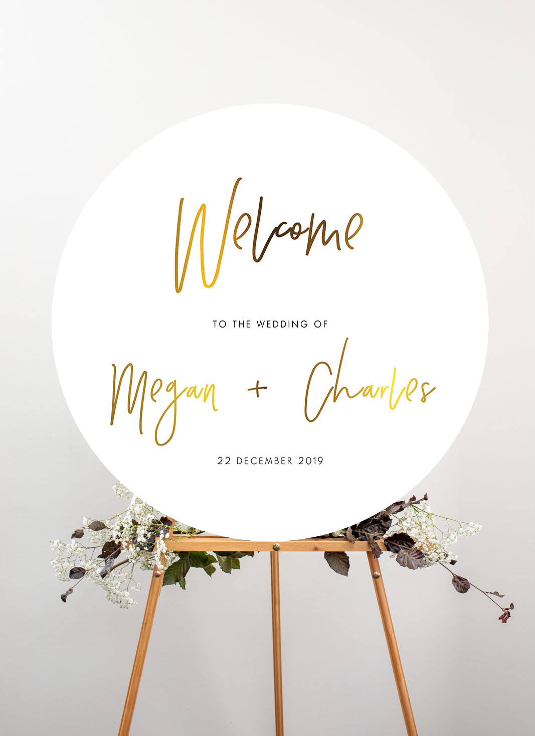 Clair De Lune - Wedding Signs