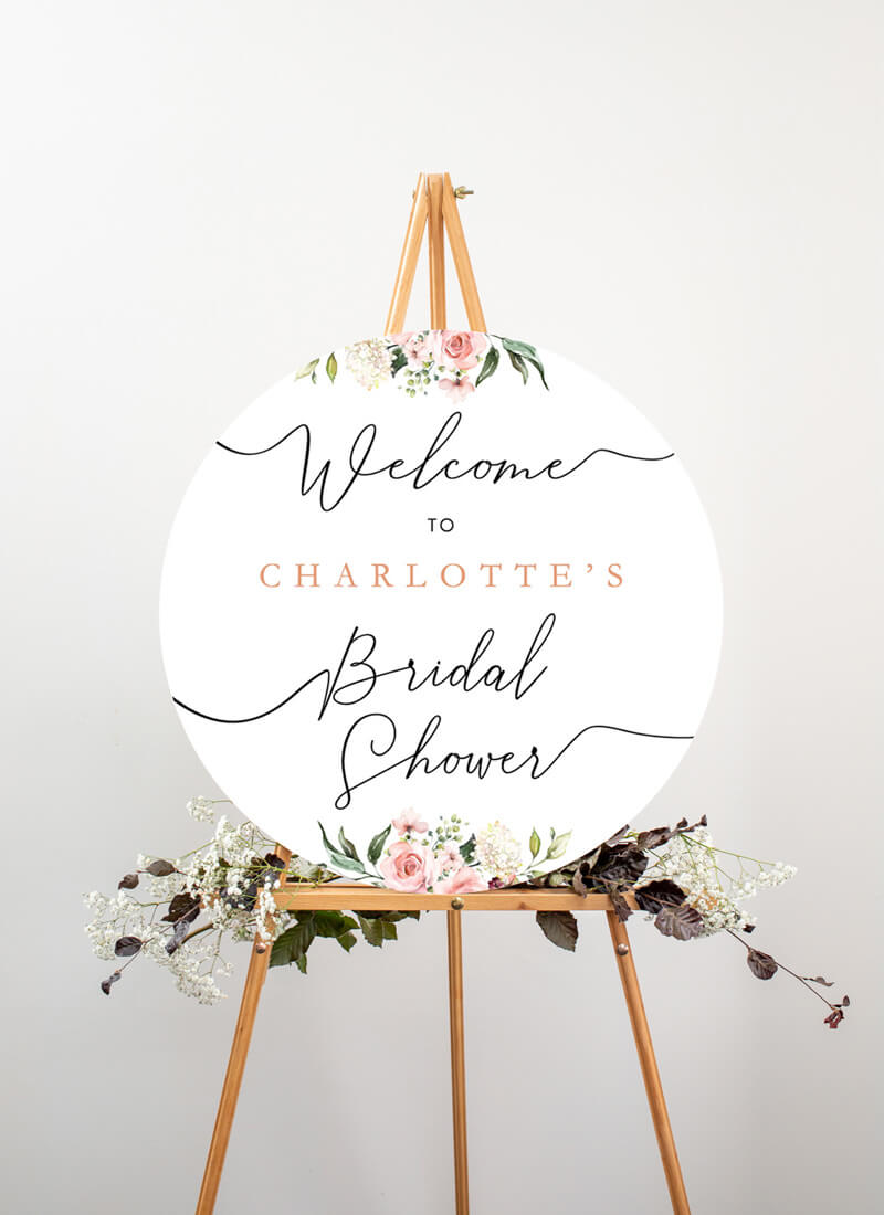 Burnt Butter Cakes - Wedding Signs