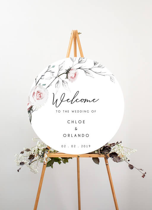 Florescence - Wedding Signs