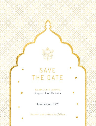 Classic Mumbai Save The Date - Save The Date