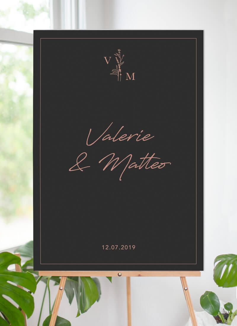 Dark Romance - Wedding Signs