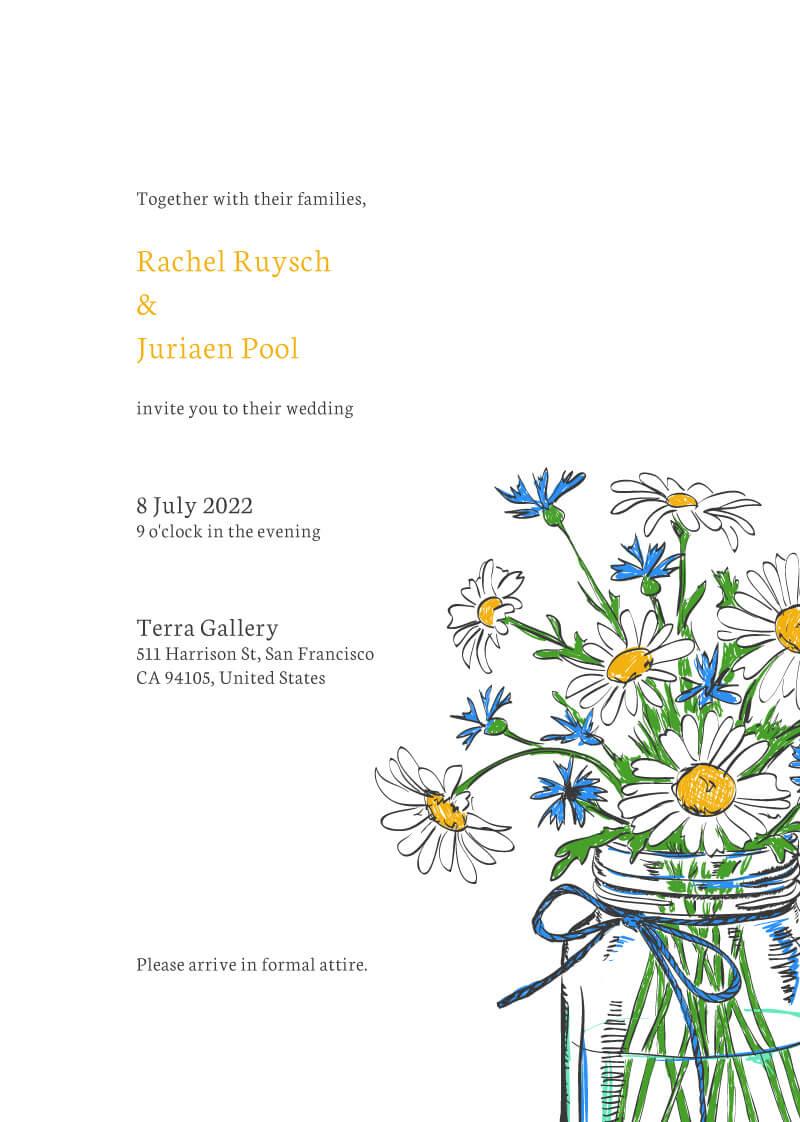 Daisy Mason - Wedding Invitations