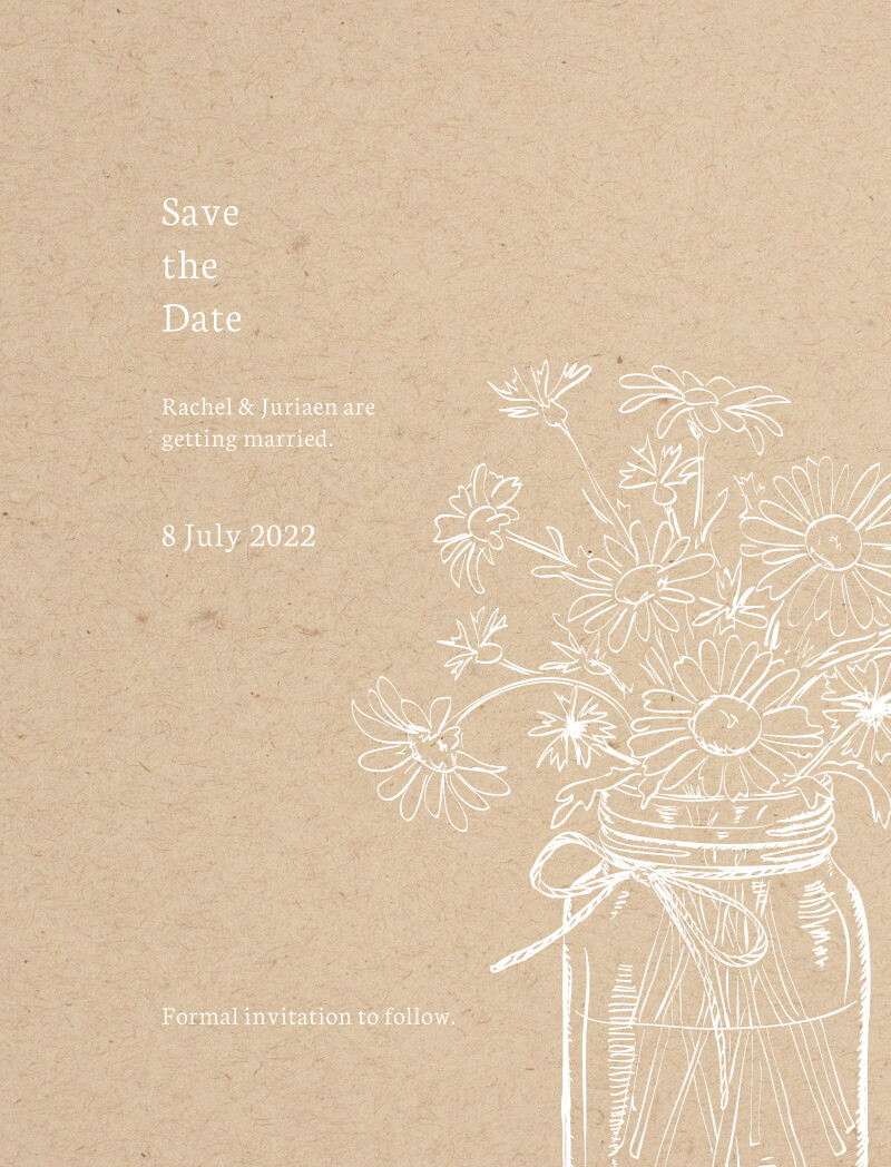 Daisy Mason - Kraft - Save The Date