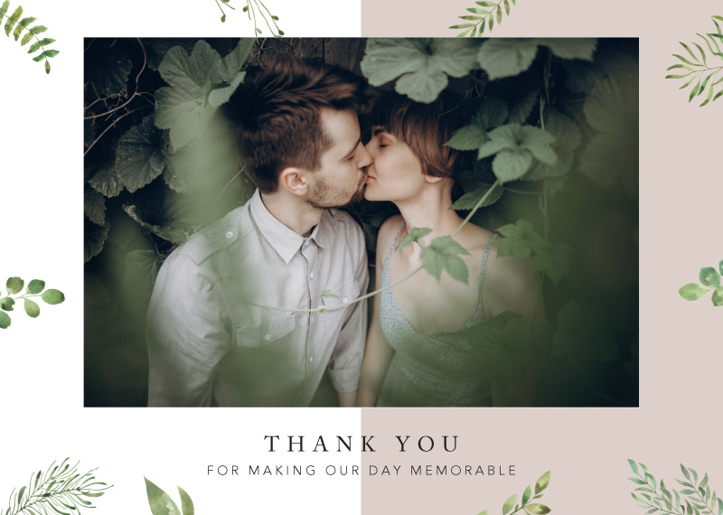 Botanical Fun - Thank You