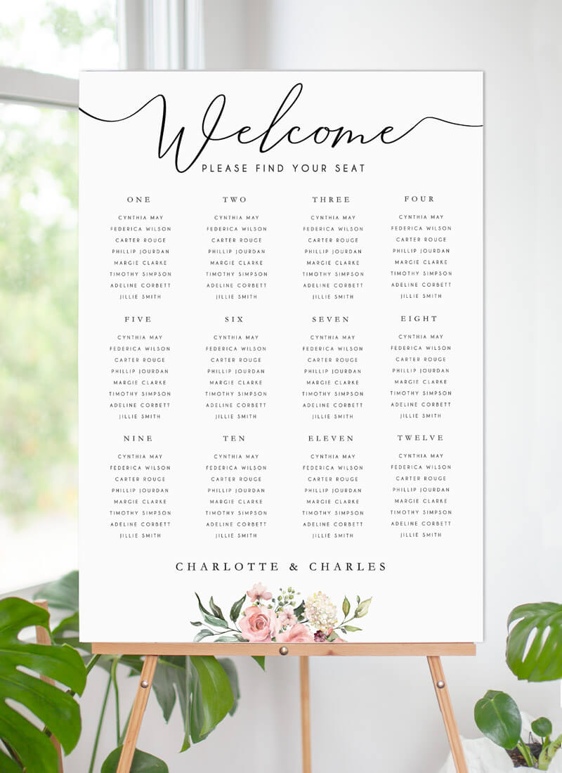 Burnt Butter Cakes - Seating Charts