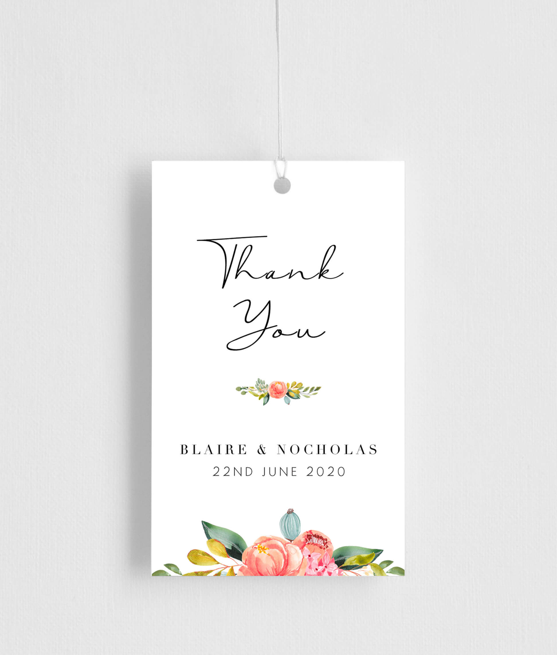 Spring Bouquet - Gift Tags