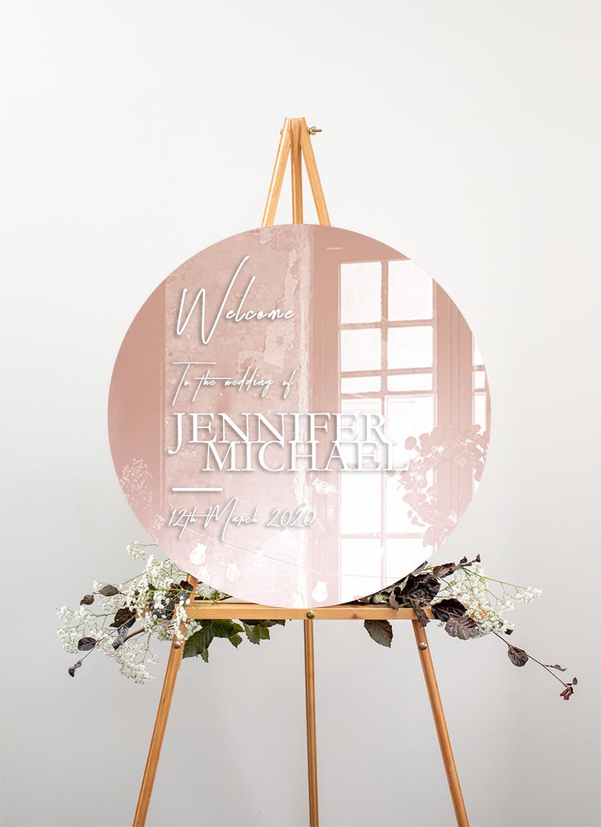 The BWM - Wedding Signs