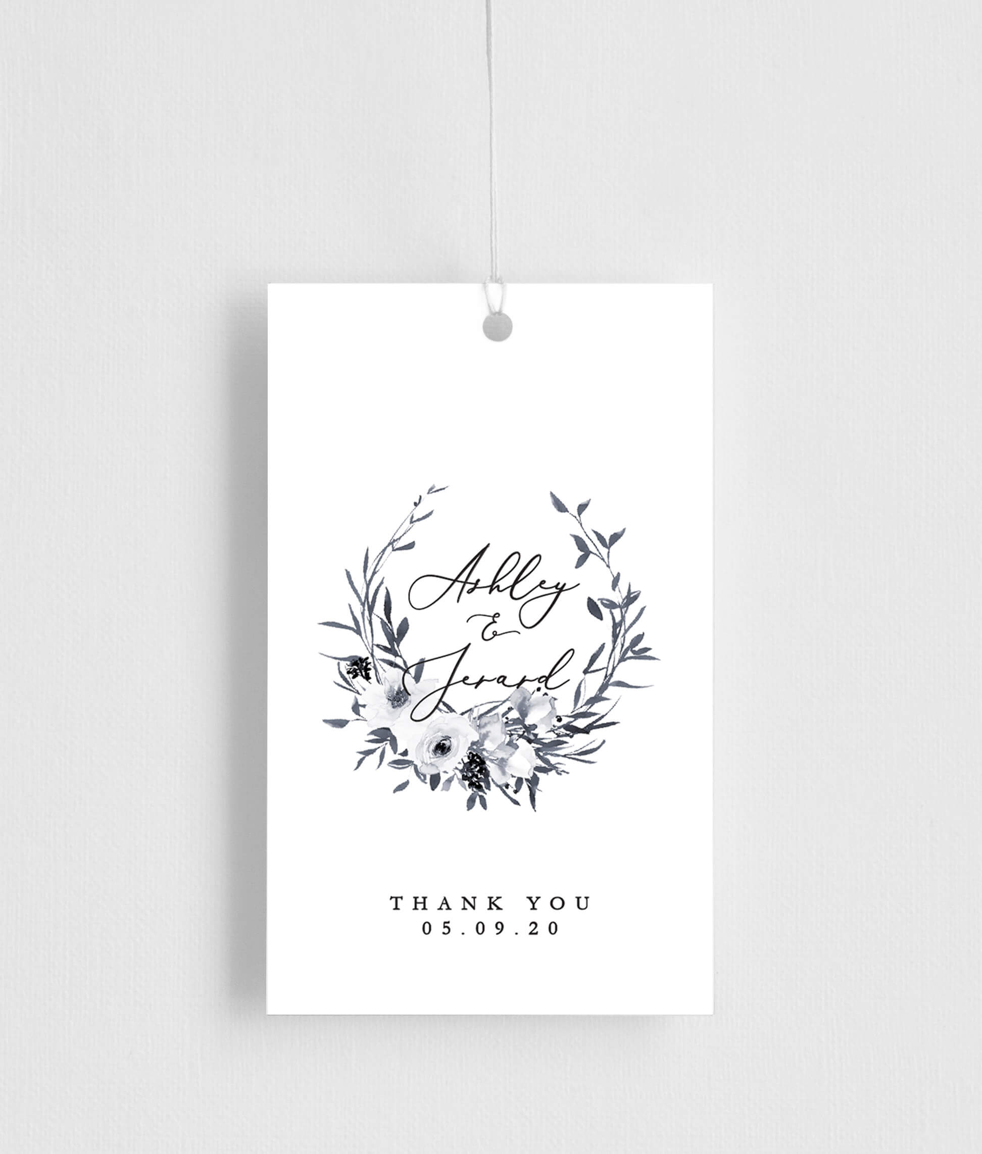 Floral Crown Classic - Gift Tags