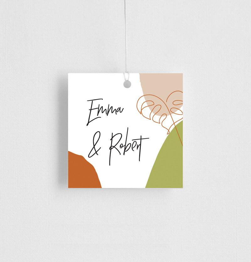 Tropical Camo - Gift Tags