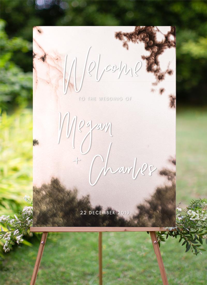 Clair De Lune - Wedding Signs