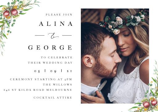 Sarulean Wedding Invitations - wedding invitations