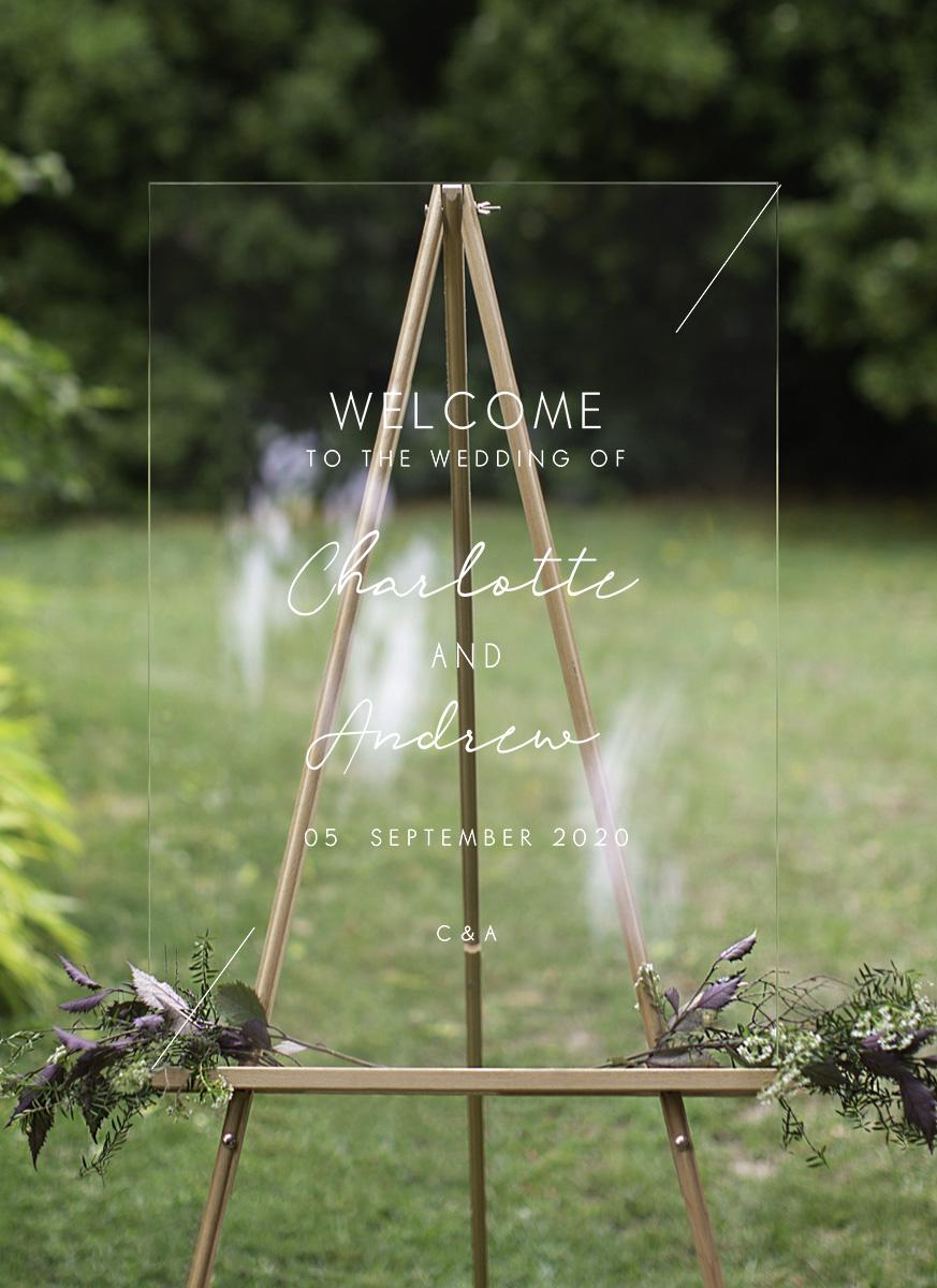 Blanc Mode - Wedding Signs