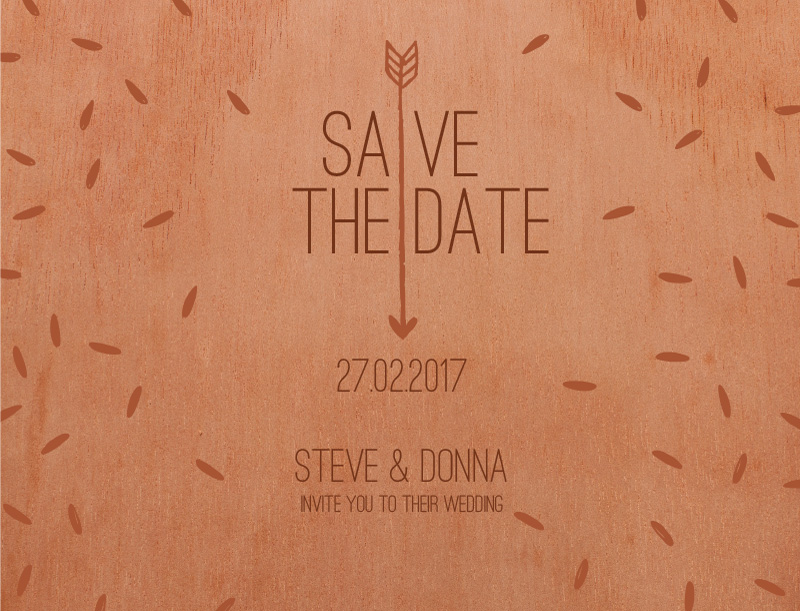 Woody Brown River - Save The Date
