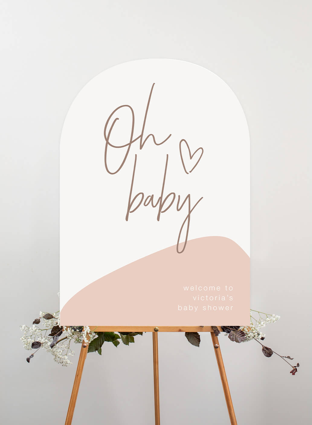 Oh Baby - Wedding Signs