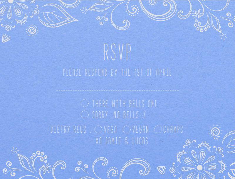 Der Garten - RSVP Cards